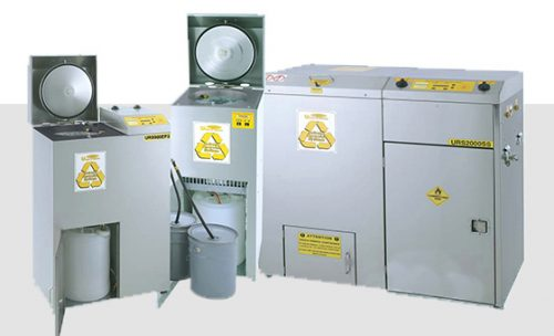 Solvent Recyclers for Automotive Trade in USA and Canada